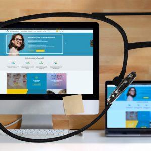 Arbeitsplatzbrillengläser mit Blaulichtfilter und Abstandsoptimierung