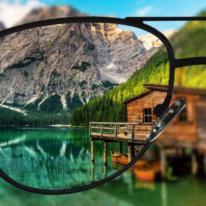 Einstärken Brillengläser