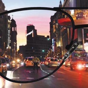 Einstärken Brillengläser für Nachtfahrt