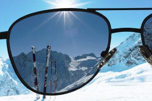 Polarisierte Einstärken Sonnenbrillengläser