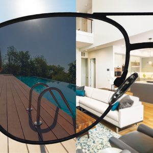 Selbsttönende Einstärken Sonnenbrillengläser