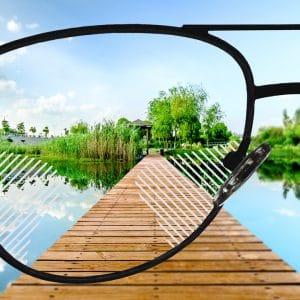Komfort Gleitsicht Brillengläser
