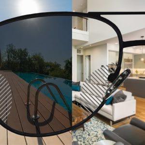Selbsttönende Premium Gleitsicht Sonnenbrillengläser