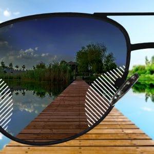 Premium Gleitsicht Sonnenbrillengläser mit Farbverlauf