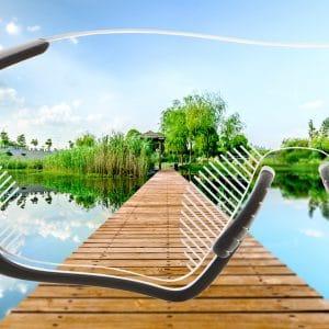 Premium Gleitsichtgläser für Sportbrillen