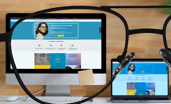 Arbeitsplatz Brillengläser mit hochwertigem Blaulichtfilter für Bildschirmarbeit