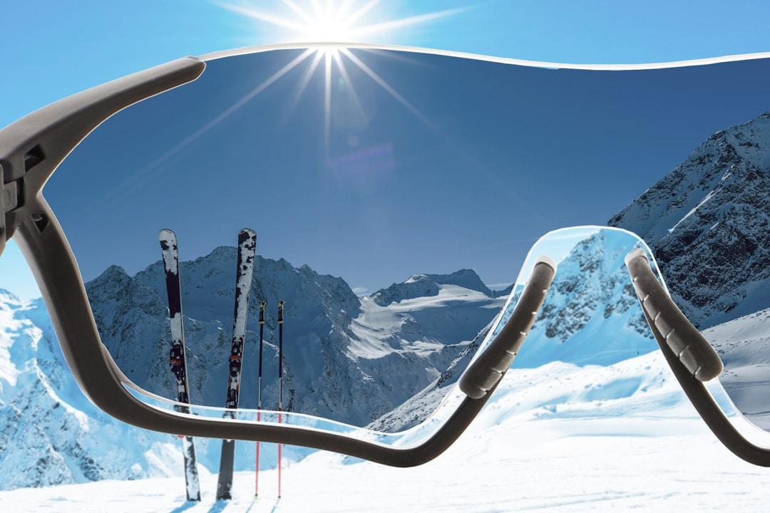 Polarisierte Sport Sonnenbrillengläser, Einstärken Standard
